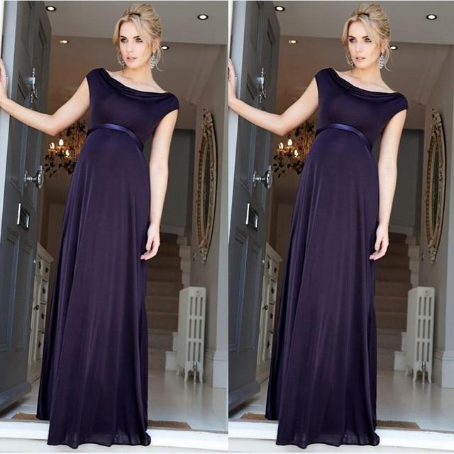 Simple Maternity Dress Evening Fashion Dresses