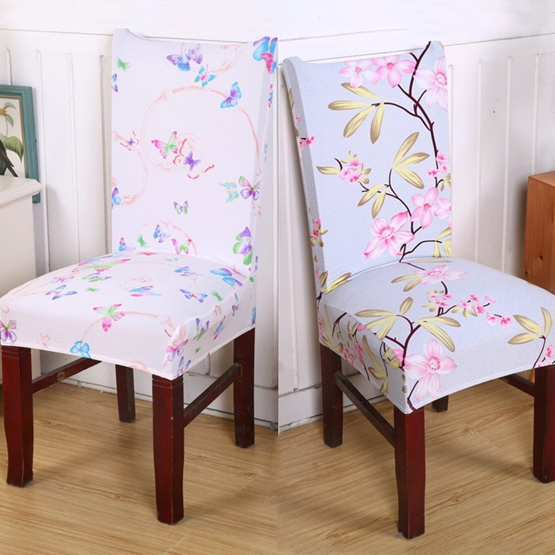 1Pcs Anti Mite Removable Dining Room Chair Chair Cover ...