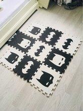 Children's Developing Maps Rugs Baby Playmat Puzzle Number Letter Cartoon EVA Foam Carpet Kids Rug Floor Games Mat Baby Play Mat