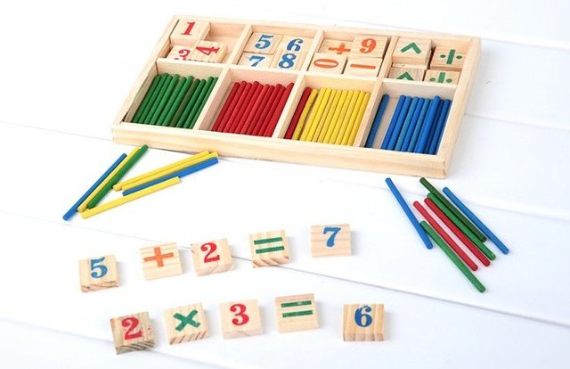 Free shipping(1pc)Educational wood product /Figure wood/Arithmetic operation best children christmas educational toy
