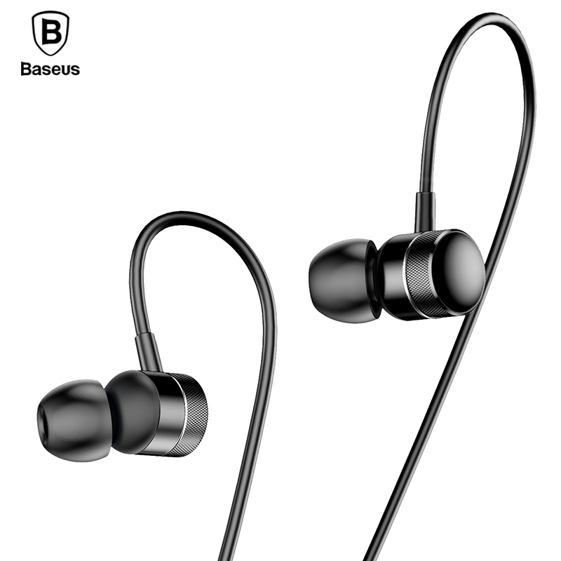 BASEUS Professional In-Ear Wired Earphone Metal Heavy Bass High fidelity Sound Quality Music H04 Earphone for smart phone acemic bt 10 pro wired acoustic bass microphone high fidelity voice
