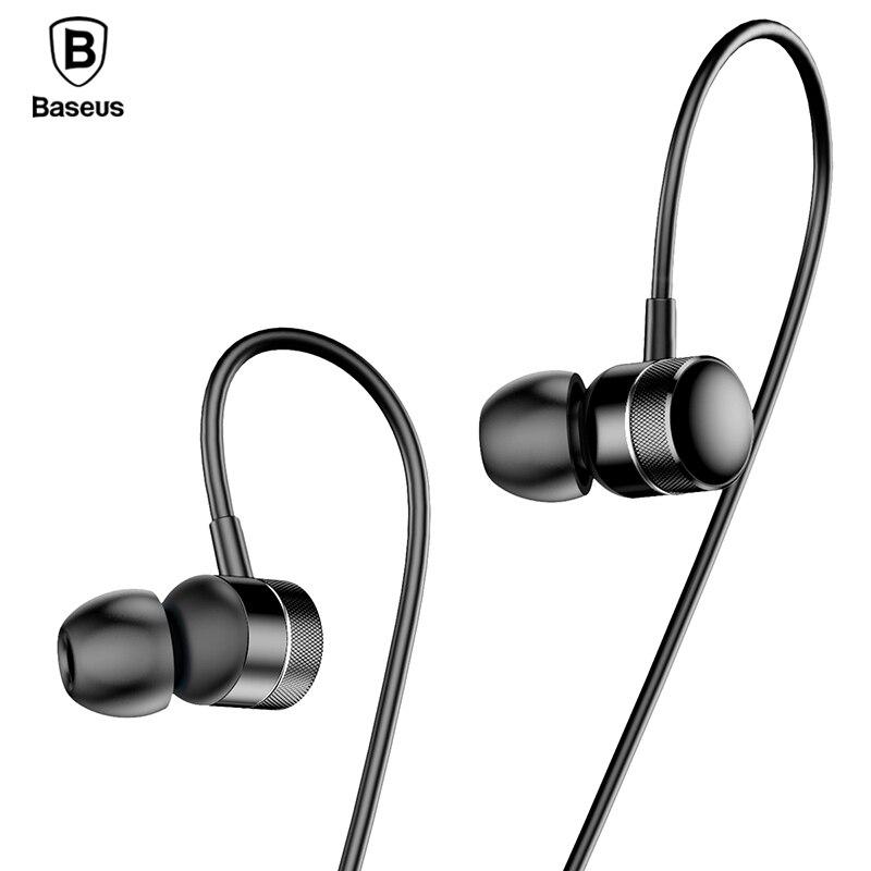BASEUS Professionelle In-ear-ohrhörer Verdrahtet Metall Schwere Bass High-fidelity-klangqualität Musik H04 Kopfhörer für smartphone