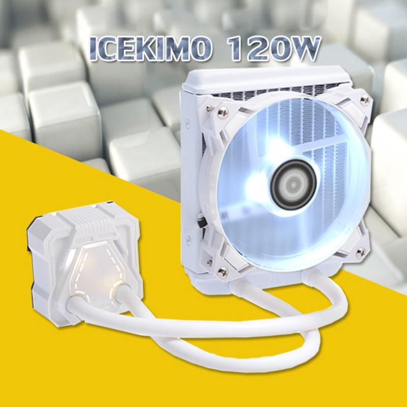 все цены на 120 CPU Liquid Cooler Cooling Radiator Fan Heatsink For Intel LGA2011 115x 775 AMD XXM8