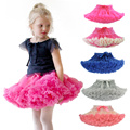 2-8 Ys Girl Ballet Tutu Skirt Children Jupe Clothes Pettiskirt Clothing For Girls Princess Fluffy Mini Skirt Dance Faldas Kids