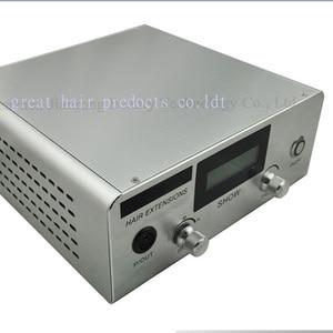 Image 3 - Enchufe ultrasónico Digital para extensiones de cabello conectores de máquina de fusión en frío, herramientas de salón de queratina, enchufe para ee. Uu./ue/reino unido, 1 ud.