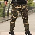 2016 nueva llegada de moda obesos de monos de camuflaje pantalones ocasionales flojos haz pant plus size XXL 3XL 4XL 5XL 6XL 7XL 8XL