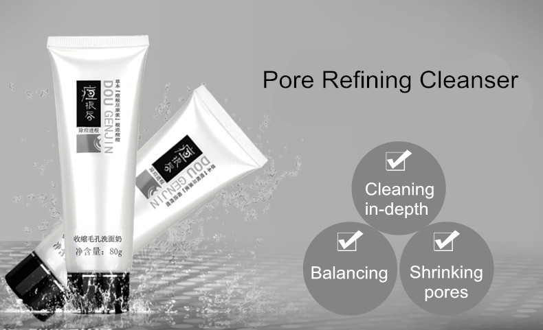Shrink Pore Minimizer Cleanser exfoliating facial pore cleanser face scrub face wash facial cleaning pimple face skin care tools 9