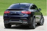 ABS paint Unpainted Car rear Trunk Lip Spoiler Wing Fit For Benz C292 W166 GLE GLE63 2015 2016 2017 2018 2019 BY EMS