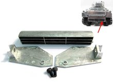 1:16 Metal Exhaust Diffuser  for MATO 1230 all / complete metal sherman M4A3(75)W rc tank