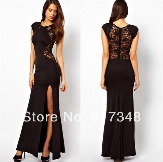 Hot Sale Women's Long Maxi Dress O-neck Sleeveless Elegant Dresses