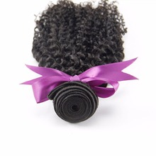 Alimice Hair Brazilian Kinky Curly Weave Human Hair Bundles Natural Color 10 26inch 1 Piece Non