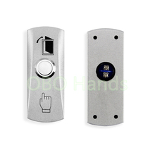 Free shipping Stainless Steel Metal Door Exit Button emergency push button switch For Access Control home security alarm system