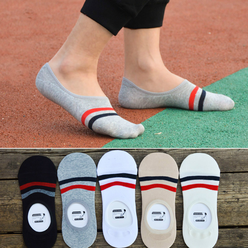 Men Socks Fashion Casual Classic Male Invisible Boat Sock Slippers Shallow Mouth No Show Socks Men Socks Chaussette Homm