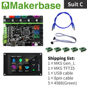 Image 3 - MKS Gen_L と MKS TFT35 用 3d プリンタ Makerbase によって開発された