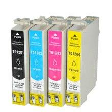 Vilaxh T1281-T1284 Compatible Ink Cartridges for Epson Stylus sx125 sx130 sx230 sx235w sx420w sx430w sx425w sx435W t1281 Printer