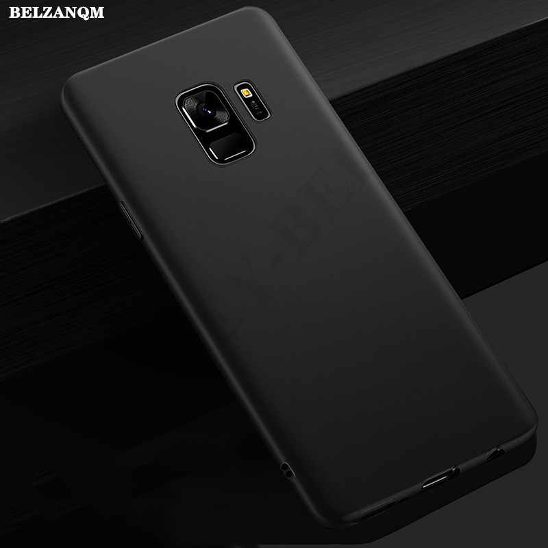 Soft Silicone Matte Case for Samsung Galaxy J3 J5 J7 2015 2016 A3 A5 A7 2016 J2 J5 J7 Prime 2017 J4 J6 Soft TPU Phone Cases Bag
