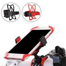 Universal Mobile Cell Phone Holder With Silicone Support Bike Bicycle Motorcycle Handlebar Mount Holder Mobile phone holder bike handlebar mobile phone holder universal motorcycle bicycle handlebar mount holder for cell phone gps bicycle accessories