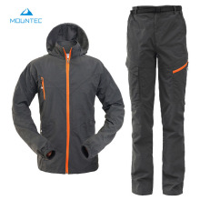 MOUNTEC Camping Hiking Clothing Outdoor Sport Hiking Jacket Set Quick Dry Breathable Sportswear Outdoor Sports Suit