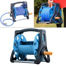 Portable Garden Water Pipe Hose Reel Cart Outdoor Yard Planting Holder Storage O