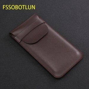 Image 1 - FSSOBOTLUN, pour Samsung Galaxy s8 s9 + note10 + NOTE 9 note 8 pochette étui fait main étui de protection complet avec couvercle