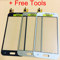 Top Quality Touch Screen For Samsung Galaxy J2 Duos Mobile Phone With Digitizer Front Glass TouchScreen  NOT LCD Display + Tools