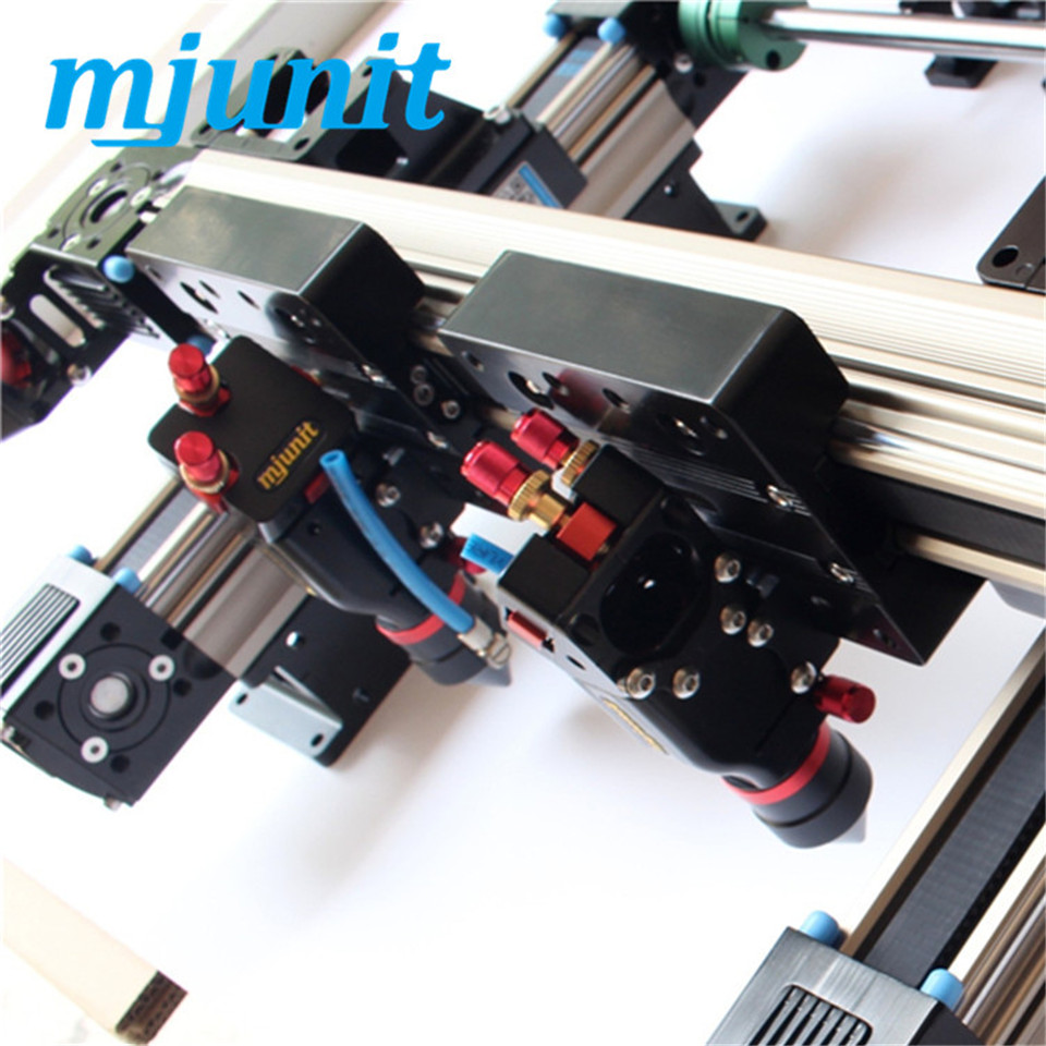 mjunit 1080 double-head laser cutting machine kit linear module