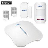 KERUI W1 WiFi PSTN Home Burglar Alarm System More Convenient Portable Home Alarm System Great Design