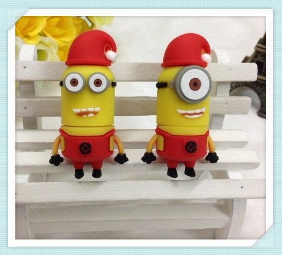 Despicable Me usb flash drive 2 series red hat USB 2.0 4GB-64GB USB Flash 2.0 Memory Drive Stick Pen/Thumb/Car S167