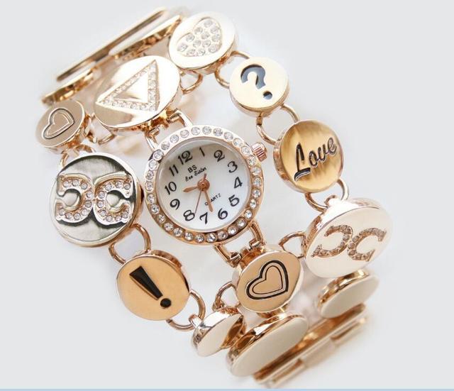 2018 Women's Watch New Luxury Casual Fashion Alloy Quartz Watch Diamond Bracelet Watch Accessories Gifts Relogio Feminino reloj   Fotoflaco.net