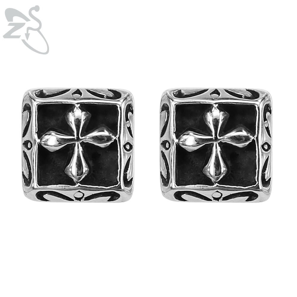 mens onyx color cz plated earrings kite fashion pave bling black rm jewelry stud rhodium az micro