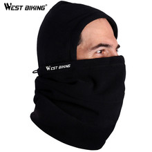 WEST BIKING Warmer Cycling Face Mask Hat Winter Tube Neck Scarf Function Bike Skiing Beanies Warm MTB Bike Cap Cycling Face Mask(China)