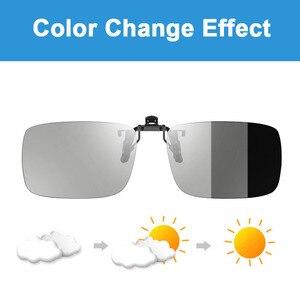 Image 5 - Işık duyarlı fotokromik tek vizyon optik reçete lensler hızlı ve derin kahverengi ve gri renk değiştirme etkisi