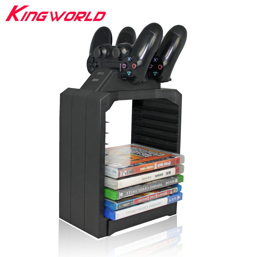 DiscStorage Multifunctional Universal Games Disc Storage Tower for Xbox One for PS4 controller