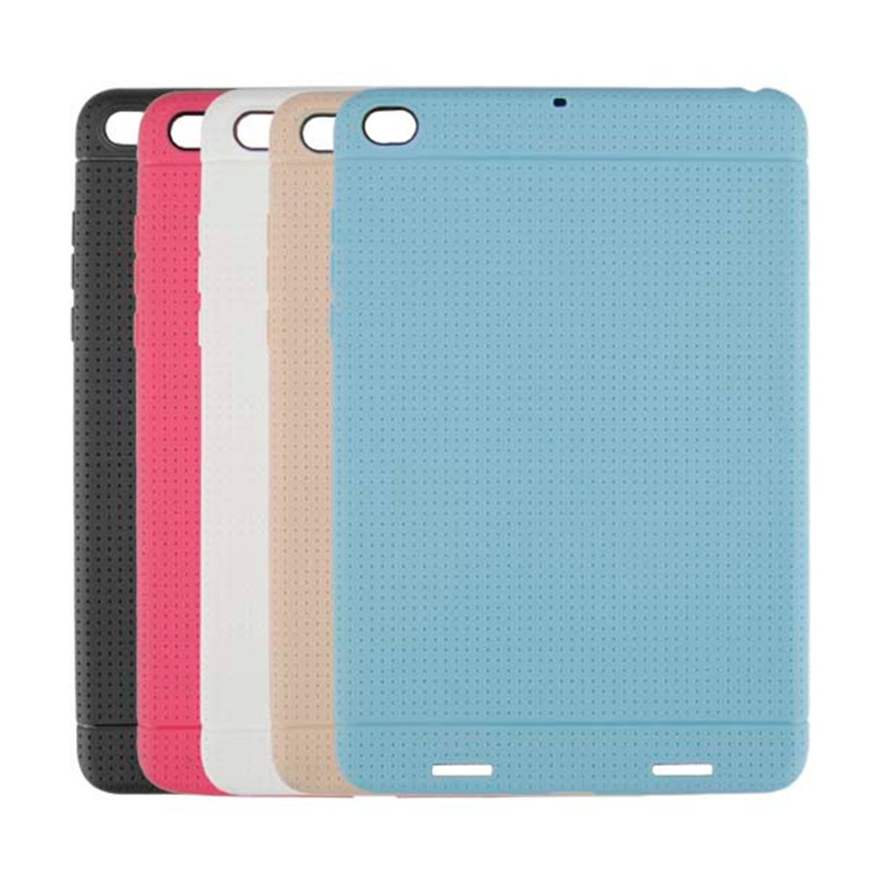 TPU Back Soft Protective Case Cover For Xiaomi Mipad 2 High Quality For Xiaomi Mipad 2 Cover Case Soft Back Case For Xiaomi Case original xiaomi translucence tpu soft case for max