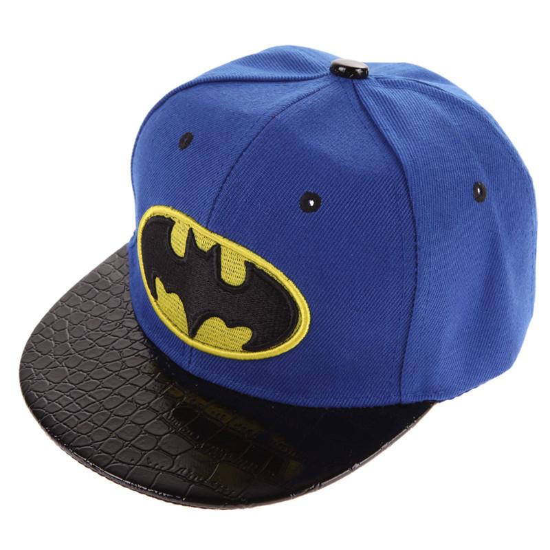 Batman Kid's Snapback Cap - Blue