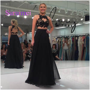 Top 10 Largest Two Piece Prom Dress Black Brands