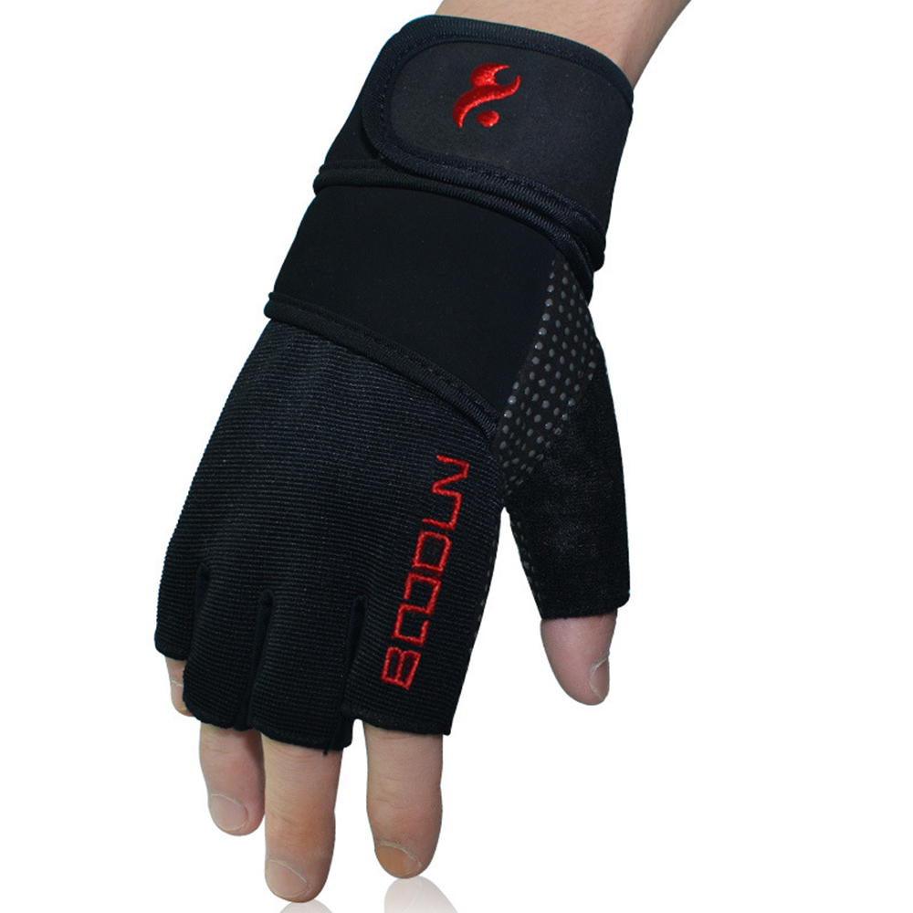outdoor sport camping climbing training hiking cycling men glove half finger tactical gloves wear non-slip