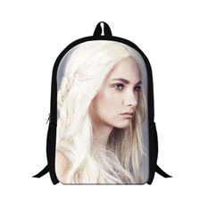 Game Of Thrones printed casual travel Backpacks