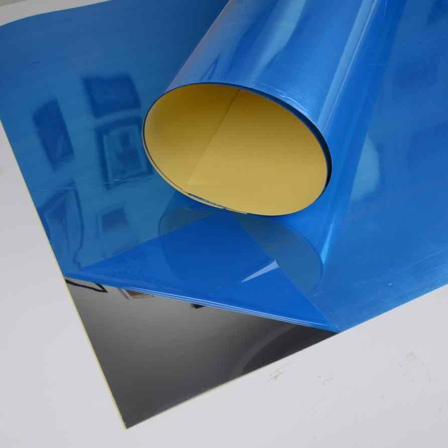 Pegatina de pared de espejo rectangular autoadhesiva para decoración de habitación adhesivo artístico diseño de espejo artístico Mural póster para sala decoración # M