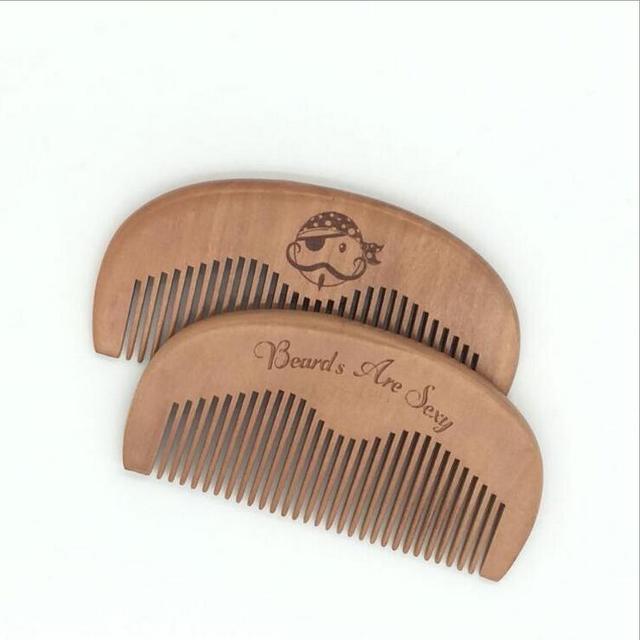 New 1 PCS Pocket Wooden Comb Super Wood Combs No Static Beard Comb Hair Styling Tool