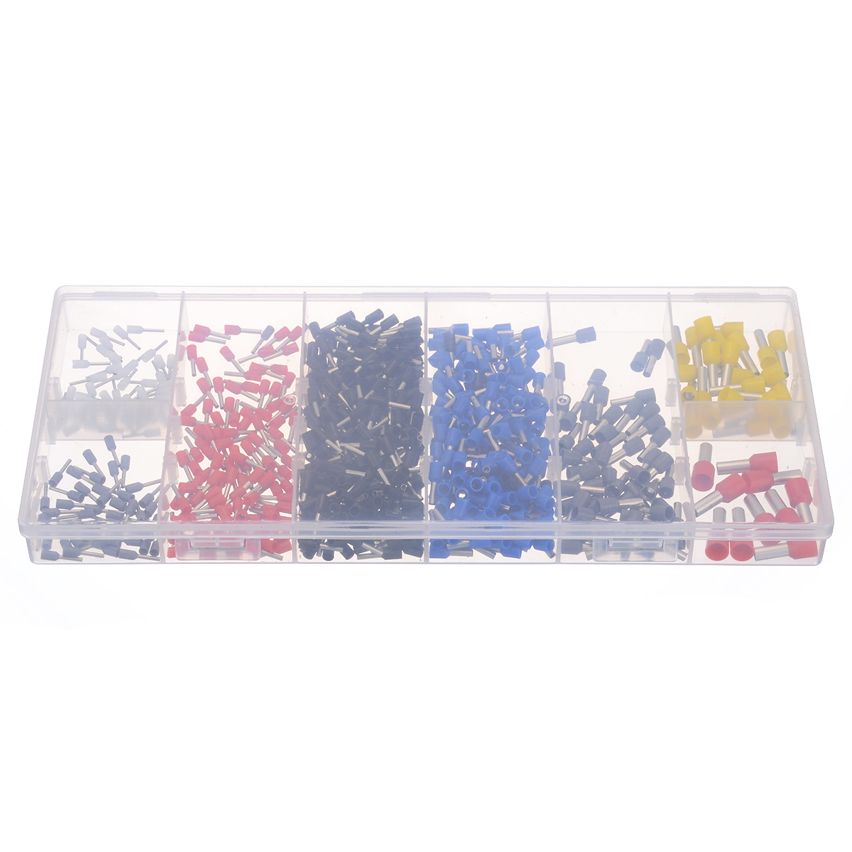 685pcs/kit Wire End Ferrule Assortment Insulated 0.5-10mm² End Sleeve Cable Lugs Electrical Crimp Terminator