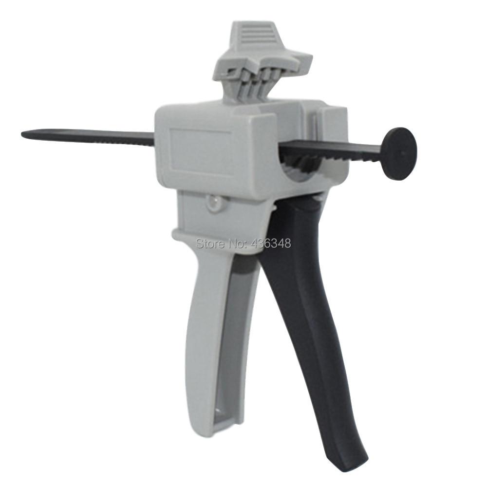 30cc 30ml 55cc 55ml Needle Cylinder Syringe Dispensing Gun Manual Glue Gun Single Component Epoxy Hot Melt Adhesive UV Glue Gun