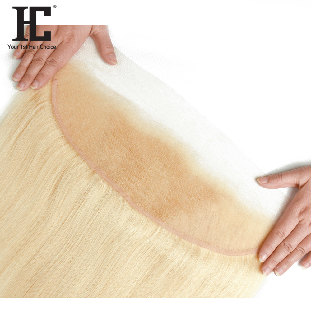 HTB1cblqXk9E3KVjSZFrq6y0UVXai HC 613 Bundles With Frontal Blonde 3 Bundles With 13X4 Closure Remy 613 Brazilian Straight Human Hair Weave Bundles With Frontal
