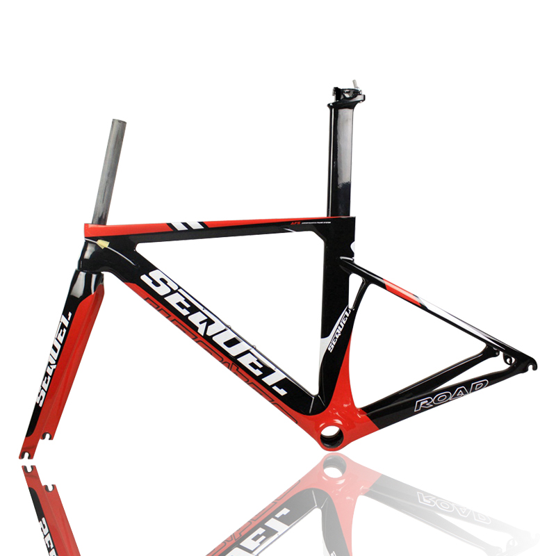2016 New Carbon Bike Frame SE05-1 T1000 Carbon Fiber Bicycle Customized LOGO Carbon Road Bicycle Frame 43 46 48 51 54 57cm