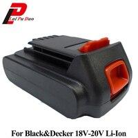 Replacement 1.5Ah 18V/20V Li Ion Power Tool Battery For Black Decker: BL1518 LB018 OPE A1118L HP188 LB20 LBX20 LBXR20 HP186