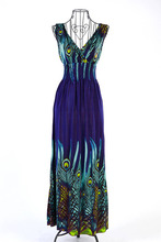 Summer women's 2018 tube top suspender bohemia beach dress high quality full dress one-piece dress