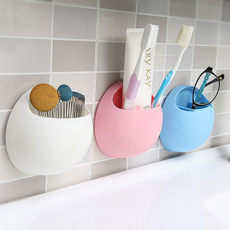 Popular Pink Bathroom Set Buy Cheap Pink Bathroom Set lots from   A051 Free Ship New Cute 1pc Funny Egg Cartoon Sucker Suction Hook Tooth  Brush Holder round. Cute Bathroom Sets. Home Design Ideas