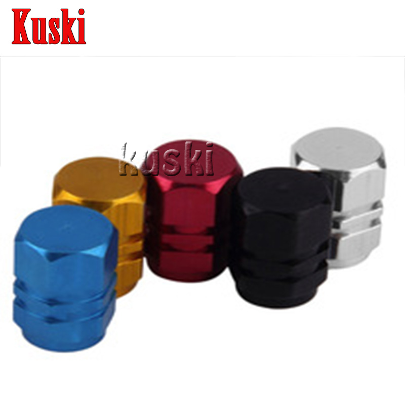 4pcs Aluminum Car Wheel Tire Air Valve Dust caps Car styling For Chevrolet Cruze Aveo Captiva Lacetti TRAX Sail Epica