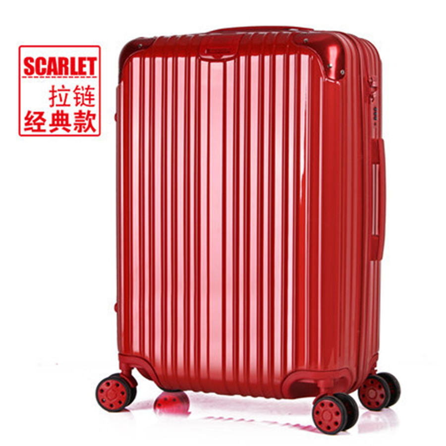 Pull rod box universal wheel suitcases; male and female luggage suitcase boarding lockbox 26 28 inches
