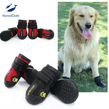 Professional Protection Dog Boot  Shoes Snow Boots Waterproof for Dogs Sport Booties Puppy Outdoor